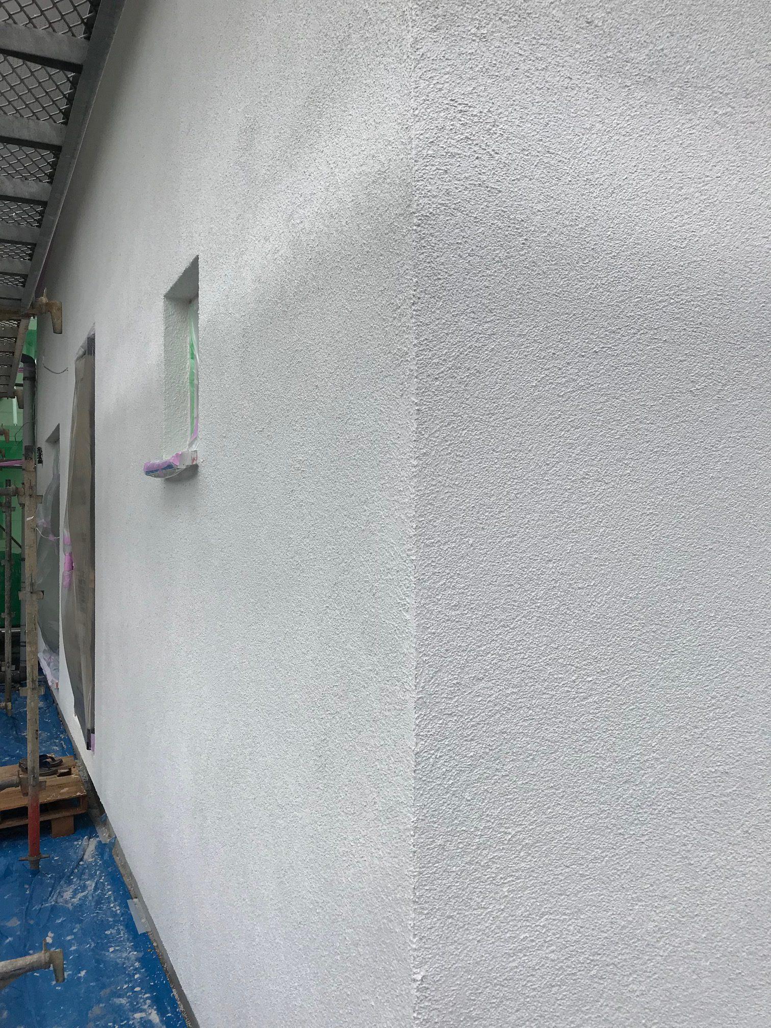 モデルルーム進捗報告! 外壁仕上げ完了!